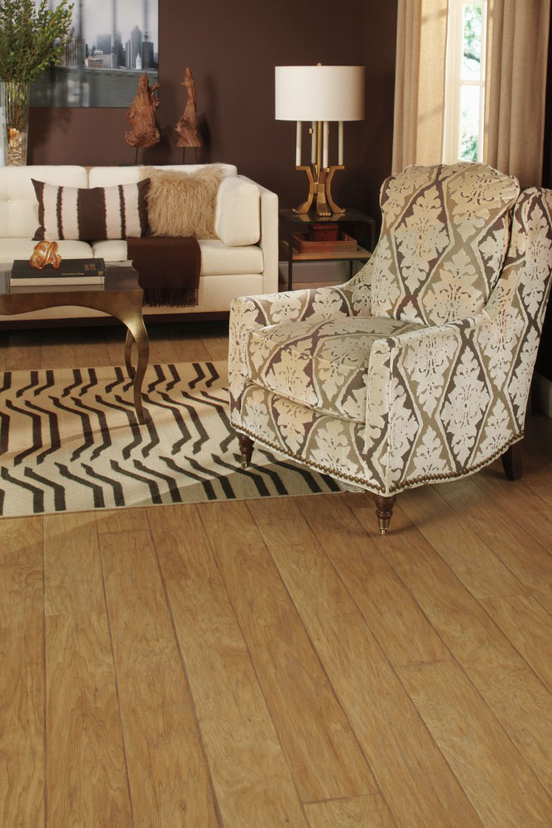 Sandy Blonde Hickory Plank Laminate Quickstep Floor Westchester